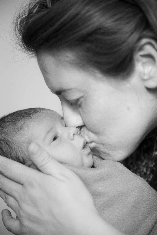 La piccola Zoe e la sua placenta foto Nicoletta Valdisteno