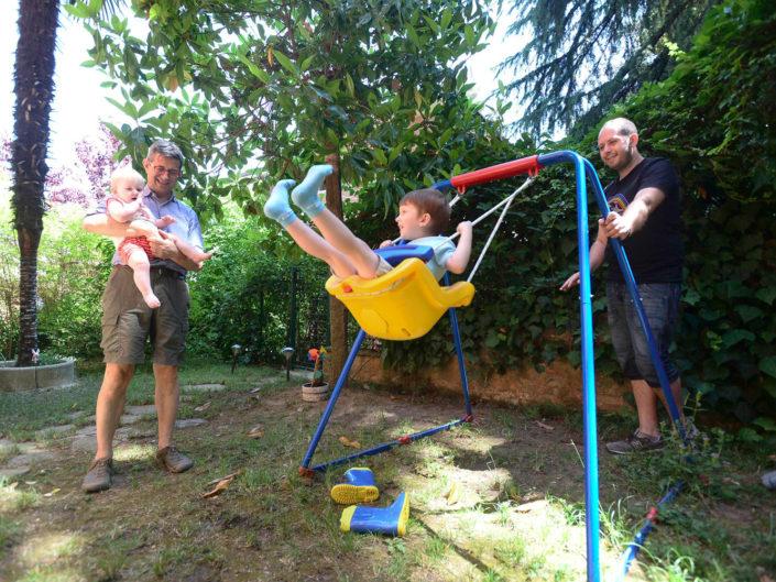 Una mattinata con Michele, Sergio, Luca e Alice